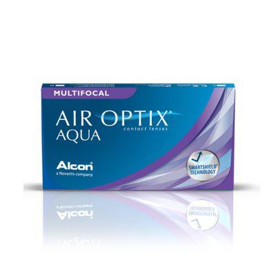 producto de mantenimiento Air Optix Aqua Multifocal