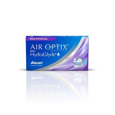 producto de mantenimiento Air Optix plus Hydraglyde multifocal (3)