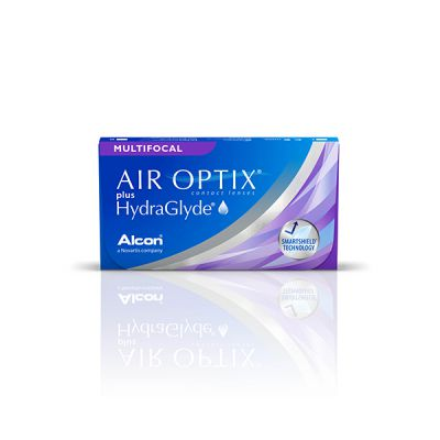 producto de mantenimiento Air Optix Plus Hydraglyde Multifocal
