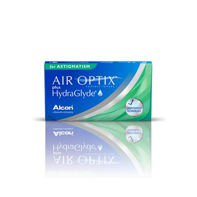producto de mantenimiento Air Optix plus Hydraglyde for Astigmatism (3)