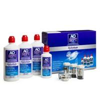 producto de mantenimiento Aosept Plus Hydraglyde 3x360ml + 90ml