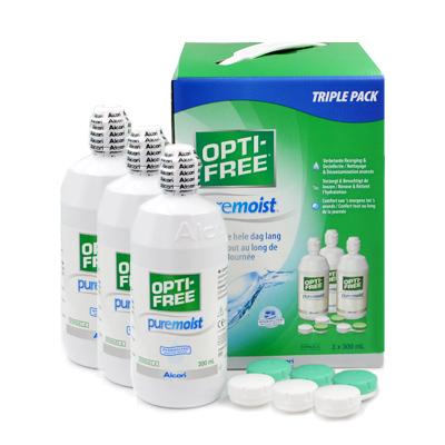 producto de mantenimiento Opti-free Pure Moist 3x300ml