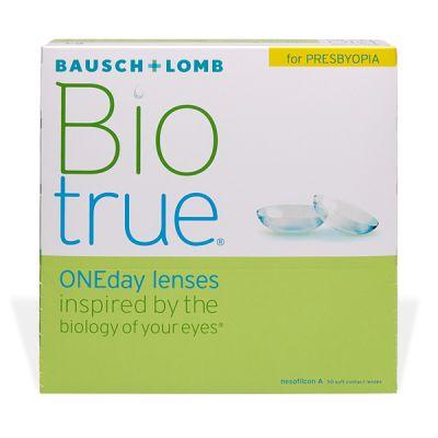 producto de mantenimiento Biotrue One Day For Presbyopia 90