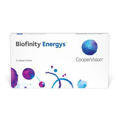 producto de mantenimiento Biofinity ENERGYS