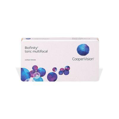 producto de mantenimiento Biofinity Multifocal Toric