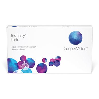 producto de mantenimiento Biofinity Toric 3