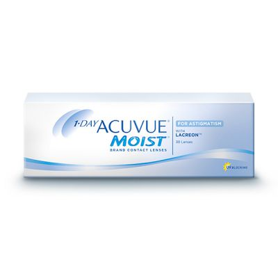producto de mantenimiento 1 Day Acuvue Moist for Astigmatism 30