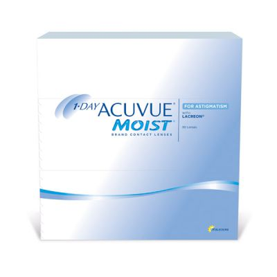 producto de mantenimiento 1 Day Acuvue Moist for Astigmatism 90