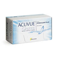 producto de mantenimiento Acuvue Oasys 12 with Hydraclear Plus