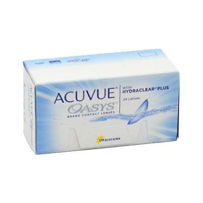 producto de mantenimiento Acuvue Oasys 24 with Hydraclear Plus