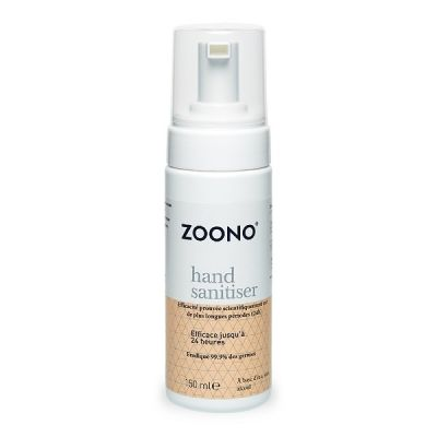 producto de mantenimiento Desinfectante de manos ZOONO 150ml